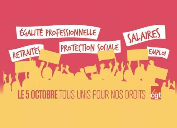 5 Octobre - Tous unis pour nos Droits