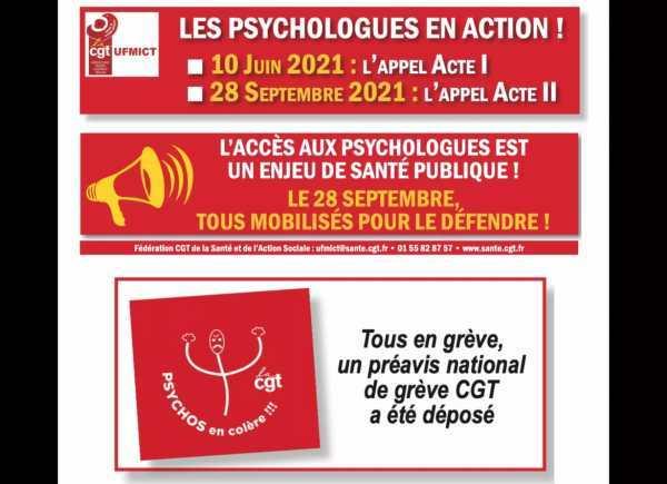 Grève et Mobilisation des Psychologues - Acte II
